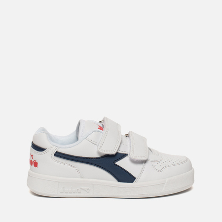 Детские кроссовки Diadora Playground PS White/Estate Blue