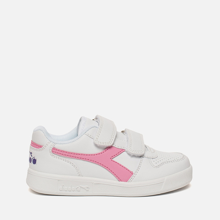 Детские кроссовки Diadora Playground PS White/Sachet Pink