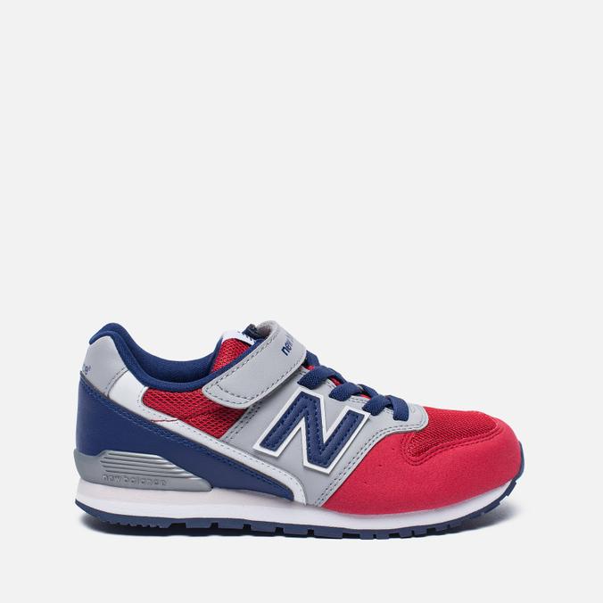 Детские кроссовки New Balance KV996OPY Red/Grey/Blue