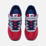 Детские кроссовки New Balance KV996OPY Red/Grey/Blue фото- 4