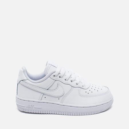 Детские кроссовки Nike Air Force 1 Low PS White