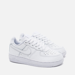 Детские кроссовки Nike Air Force 1 Low PS White фото- 1