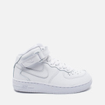 Детские кроссовки Nike Air Force 1 Mid PS White фото- 0