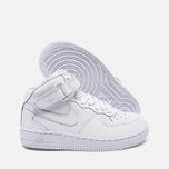 Детские кроссовки Nike Air Force 1 Mid PS White фото- 2
