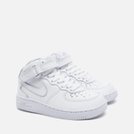 Детские кроссовки Nike Air Force 1 Mid PS White фото- 1
