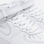 Детские кроссовки Nike Air Force 1 Mid PS White фото- 5