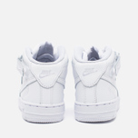 Детские кроссовки Nike Air Force 1 Mid PS White фото- 3