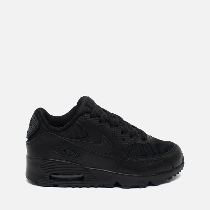 Детские кроссовки Nike Air Max 90 Mesh Black