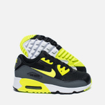 Детские кроссовки Nike Air Max 90 Mesh PS Black/Volt/Dark Grey/White фото- 1