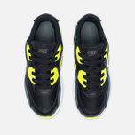 Детские кроссовки Nike Air Max 90 Mesh PS Black/Volt/Dark Grey/White фото- 4