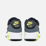 Детские кроссовки Nike Air Max 90 Mesh PS Black/Volt/Dark Grey/White фото- 5