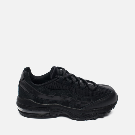 Детские кроссовки Nike Air Max 95 PS Black/Black/Black