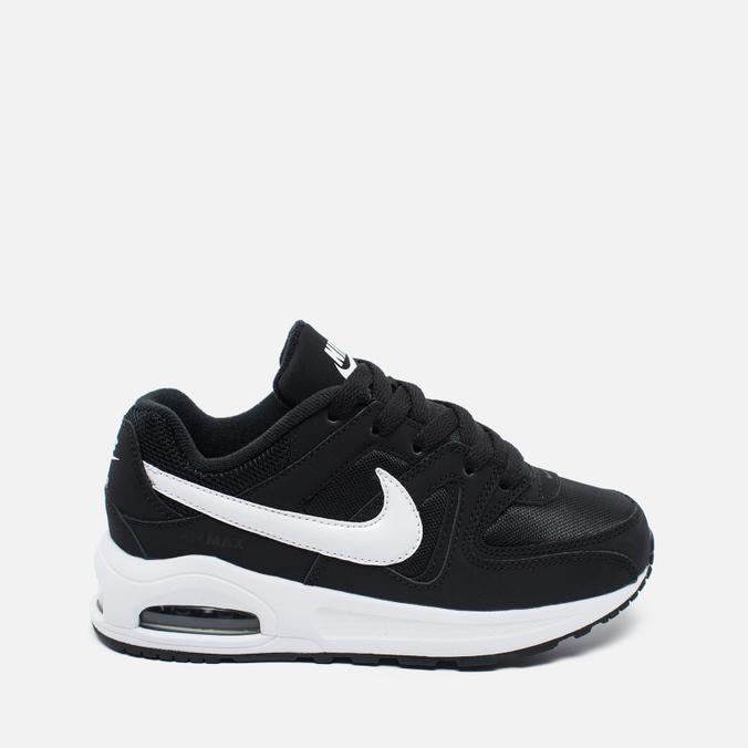 Детские кроссовки Nike Air Max Command Flex Black/White