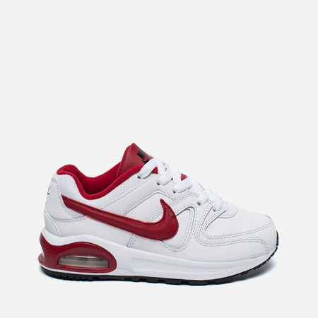 Детские кроссовки Nike Air Max Command Flex Leather White/Red