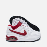 Детские кроссовки Nike Air Max Command Flex Leather White/Red фото- 1