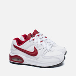 Детские кроссовки Nike Air Max Command Flex Leather White/Red фото- 2