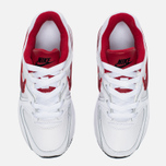 Детские кроссовки Nike Air Max Command Flex Leather White/Red фото- 4