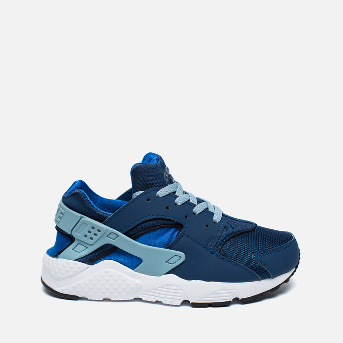 Детские кроссовки Nike Huarache Run PS Coastal Blue/Hyper Cobalt/White/Blue Grey
