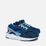 Детские кроссовки Nike Huarache Run PS Coastal Blue/Hyper Cobalt/White/Blue Grey фото- 1