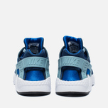 Детские кроссовки Nike Huarache Run PS Coastal Blue/Hyper Cobalt/White/Blue Grey фото- 3