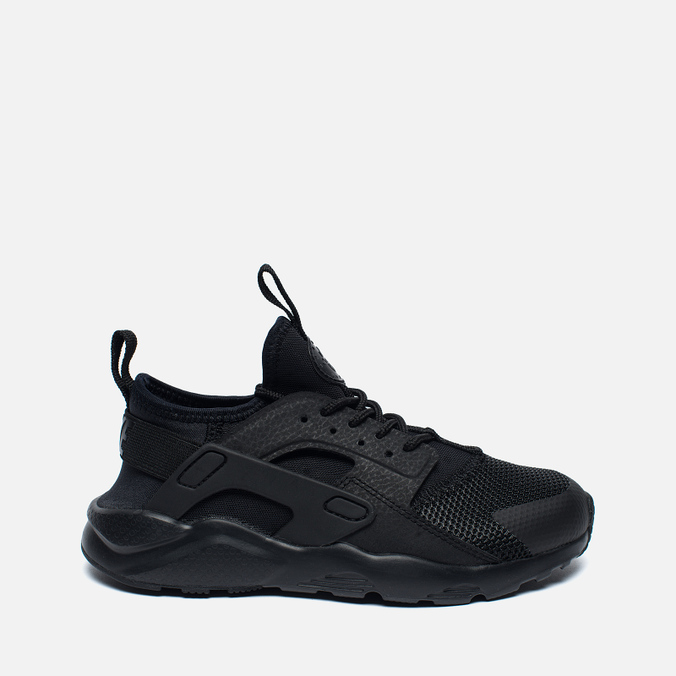 Детские кроссовки Nike Huarache Run Ultra PS Grey/Black