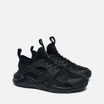 Детские кроссовки Nike Huarache Run Ultra PS Grey/Black фото- 2