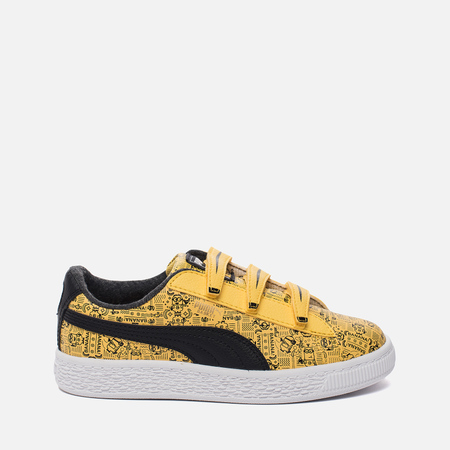 Детские кроссовки Puma x Minions Basket V PS Minion Yellow/Black