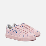 Детские кроссовки Puma x tinycottons Basket Canvas PS Pink Dogwood фото- 2