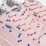 Детские кроссовки Puma x tinycottons Basket Canvas PS Pink Dogwood фото- 5
