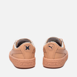 Кроссовки для малышей Puma x tinycottons Basket Leather Infant Peach Nougat фото- 3
