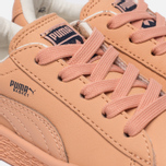 Кроссовки для малышей Puma x tinycottons Basket Leather Infant Peach Nougat фото- 5