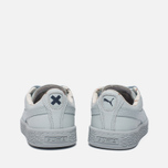 Детские кроссовки Puma x tinycottons Basket Leather PS Illusion Blue фото- 3