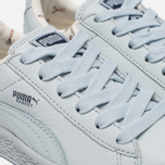 Детские кроссовки Puma x tinycottons Basket Leather PS Illusion Blue фото- 5