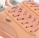 Детские кроссовки Puma x tinycottons Basket Leather PS Peach Nougat фото- 5