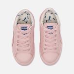 Детские кроссовки Puma x tinycottons Basket Leather PS Pink Dogwood фото- 4