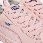 Детские кроссовки Puma x tinycottons Basket Leather PS Pink Dogwood фото- 5