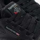 cc14d4702117 Детские кроссовки Reebok Classic Leather Black фото- 5
