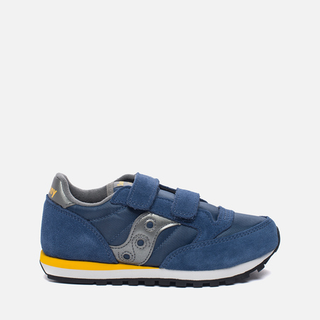 Детские кроссовки Saucony G Jazz Original Double HL Blue/Silver