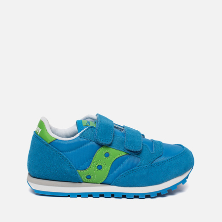 Детские кроссовки Saucony Jazz Double HL Blue/Green