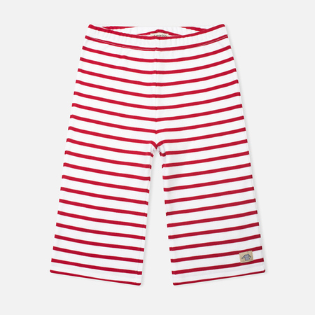 Armor-Lux Bermuda Children's Shorts White/Dark Red