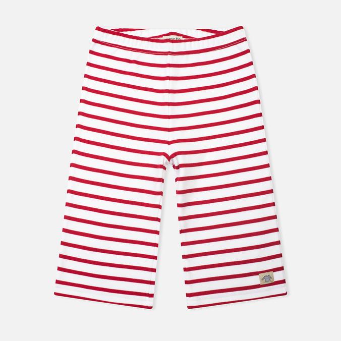 Детские шорты Armor-Lux Bermuda White/Dark Red