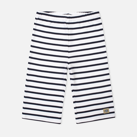 Armor-Lux Bermuda Children's Shorts White/Navy Blue