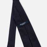 Детский галстук Hackett Solid Navy фото- 2