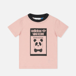 Детский костюм adidas Originals x Mini Rodini Graphic Set Pink Spirit/Black фото- 1