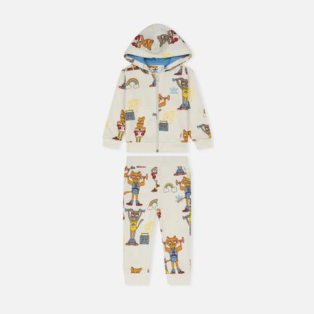 Детский костюм adidas Originals x Mini Rodini Hset Multicolor/Bahia Light Blue