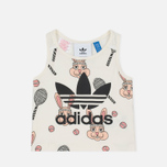 Детский костюм adidas Originals x Mini Rodini Skirt Set Off White/Multicolor фото- 1