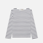 Armor-Lux Loctudy Breton Children's Longsleeve White/Navy Blue photo- 0