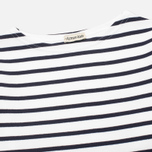 Armor-Lux Loctudy Breton Children's Longsleeve White/Navy Blue photo- 1