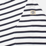 Armor-Lux Loctudy Breton Children's Longsleeve White/Navy Blue photo- 3