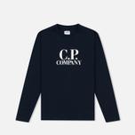 Детский лонгслив C.P. Company U16 Back Print Google Blue фото- 0